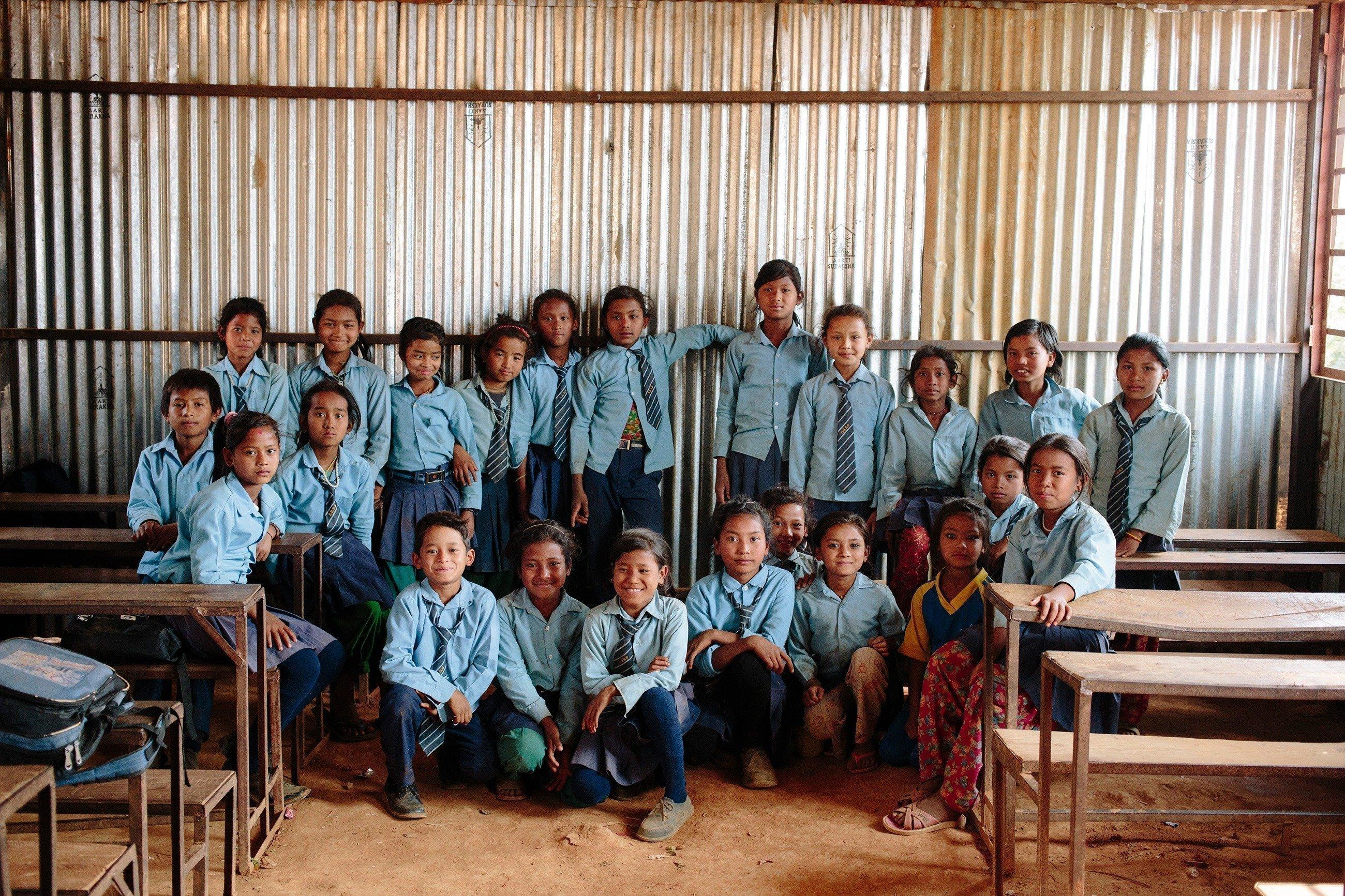 Une photo de classe.