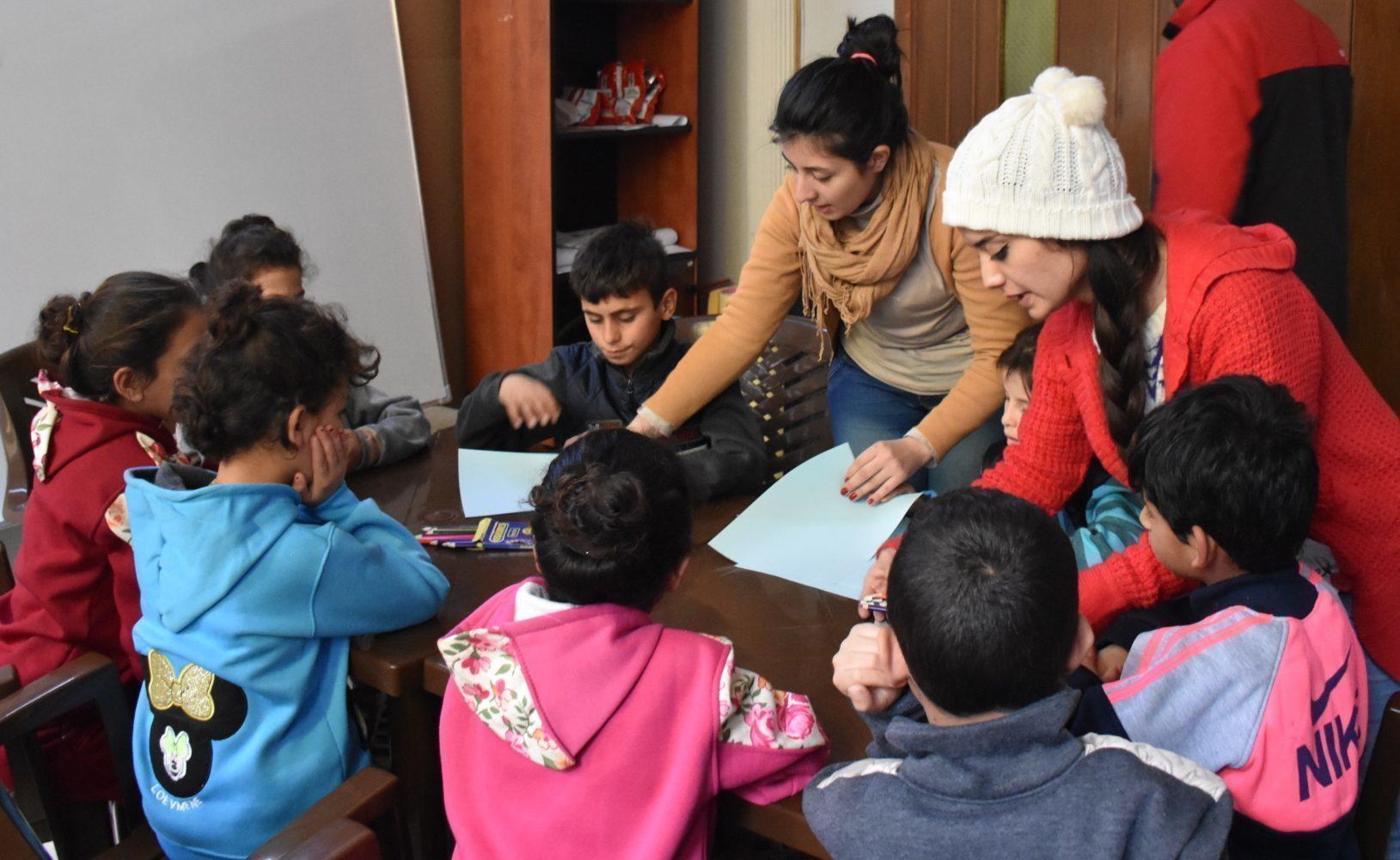 Centre d'aide d'urgence de Damas, Syrie