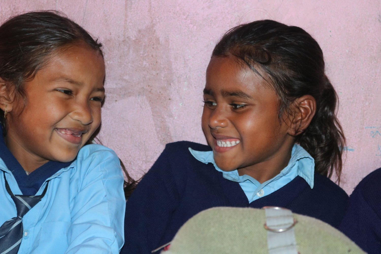 Radha, 7 ans, a de nouveau un avenir grâce à SOS Villages d'Enfants.