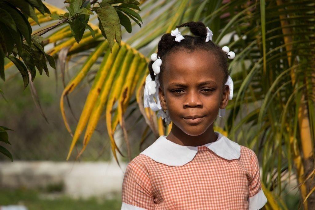 Haiti: Chloé, en voie de guérison.