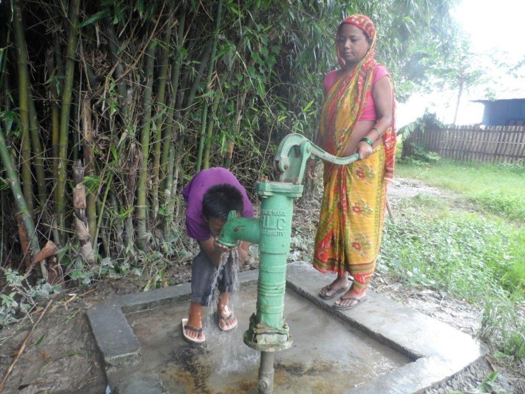 Nepal: Enfin l'eau courante.
