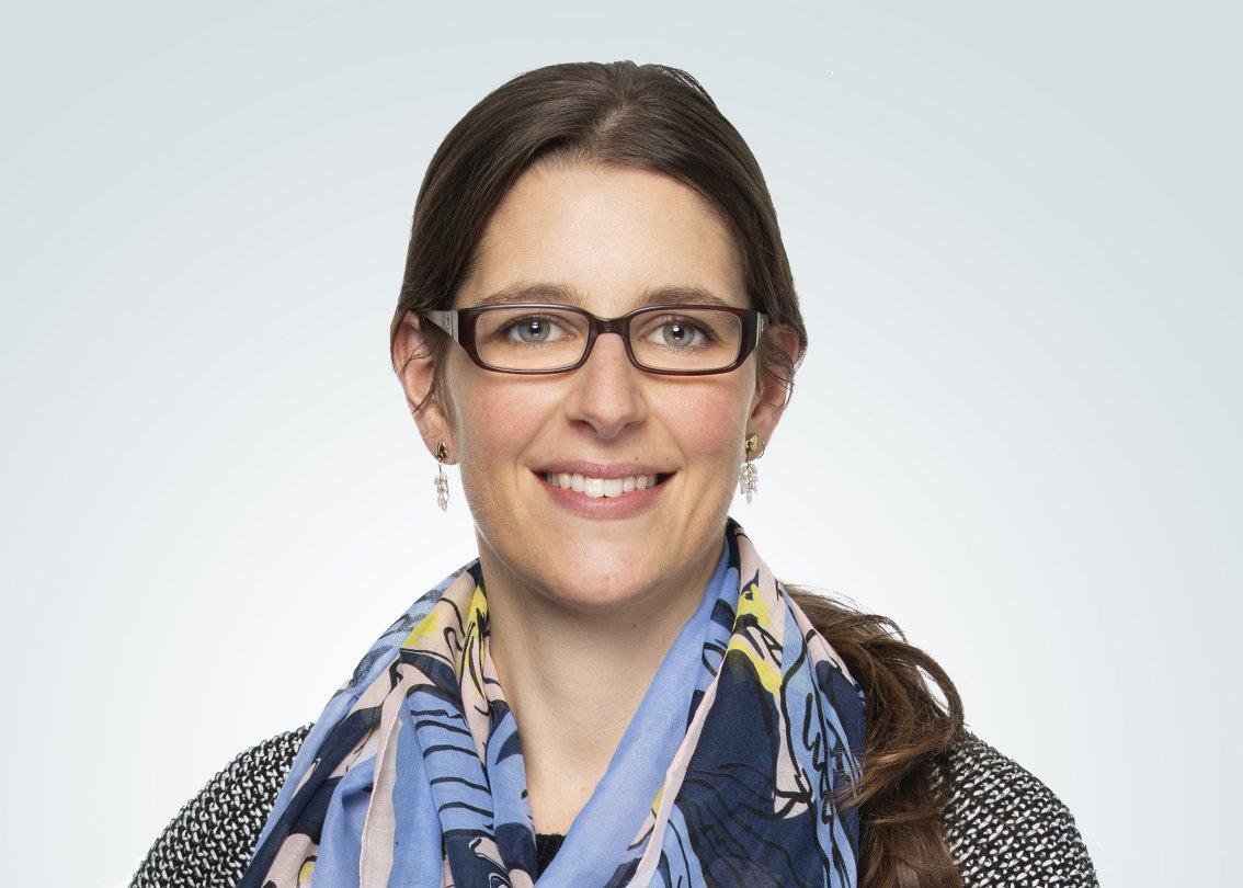 Mitarbeiterfoto Murielle Buchs