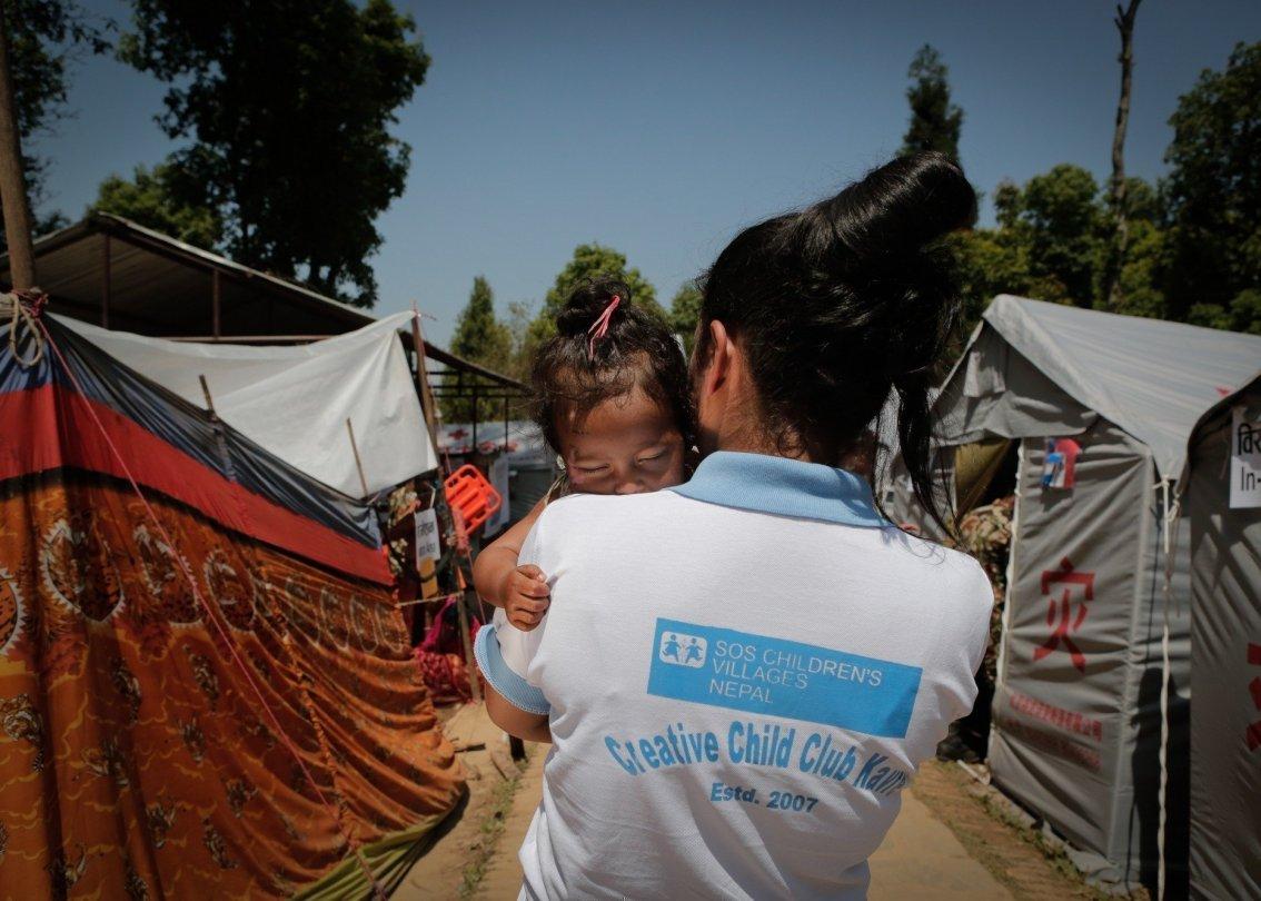 L'ONG suisse SOS Villages d'Enfants intervient dans le monde entier pour aider en cas de catastrophe.
