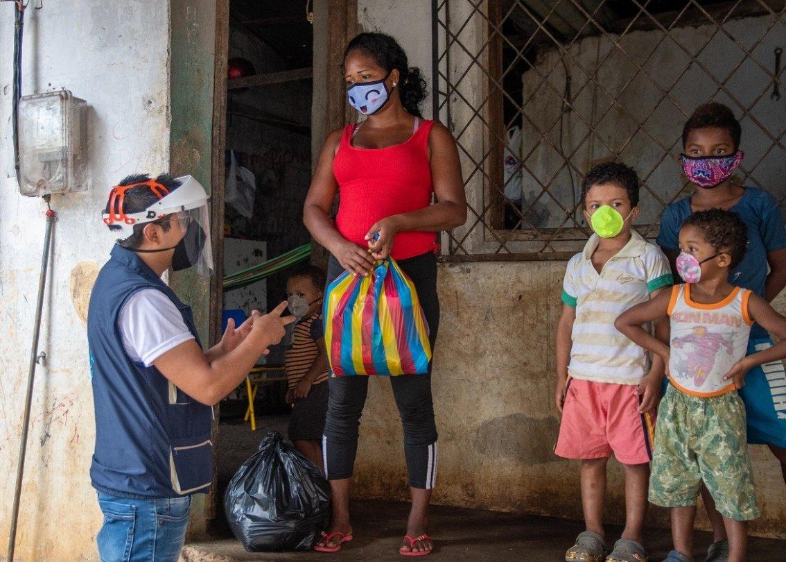 Ecuador FS Esmeraldas - support to families. Faham Foorodi